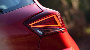 Long-term test review: SEAT Ibiza - first report rear light