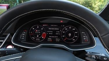 Audi SQ7 Vorsprung - dials