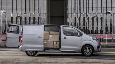 Toyota Proace electric - open side