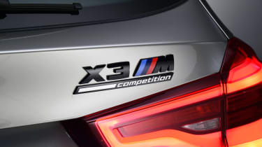 BMW X3M - rear badge