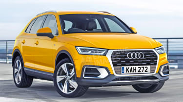 Audi Q3 - watermarked front