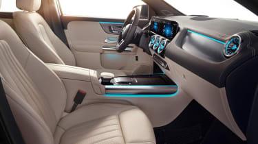Mercedes GLA - seats