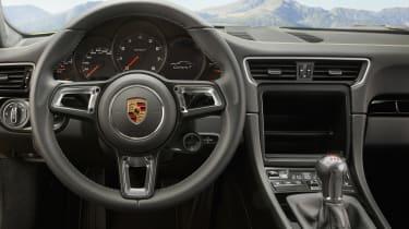 Porsche 911 Carrera T - dash