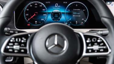 Mercedes A-Class - dials