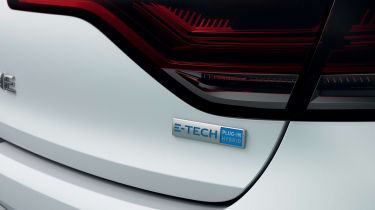 Renault Megane E-Tech - rear badge