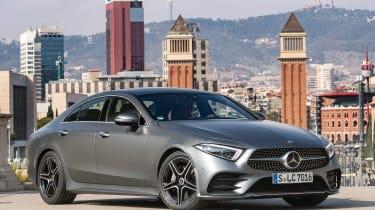 Mercedes CLS 400 d - front/side