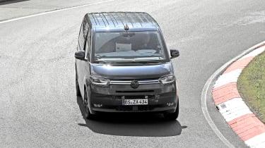 VW T7 spy - front