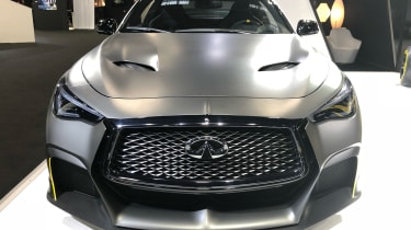 Infiniti Project Black S front end