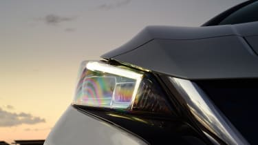 Nissan Leaf - front lights