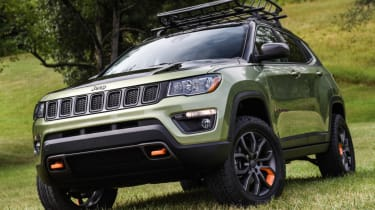 Jeep's wildest concepts driven - Trailpass front static