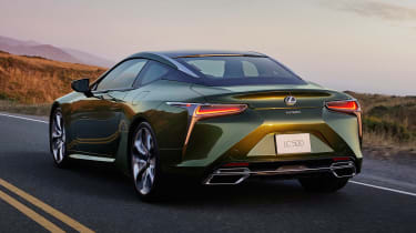 Lexus LC Coupe Limited Edition - rear