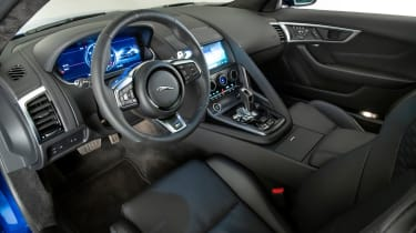 Jaguar F-Type - interior