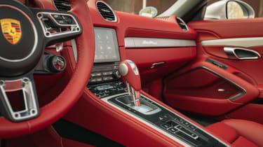 Porsche Boxster 25 Years - interior