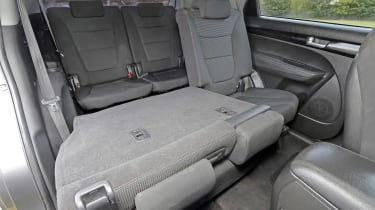 Used Kia Sorento - rear seats folded