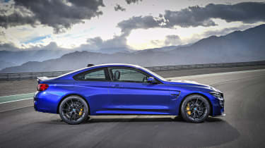 BMW M4 CS 2017 side