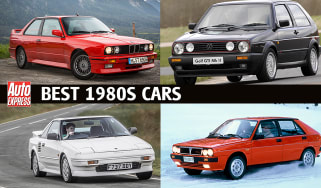 Best cars of the 80s: Header