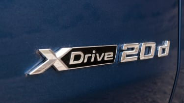 BMW X3 - XDrive 20d badge