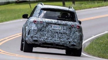 Mercedes GLE prototype - rear action