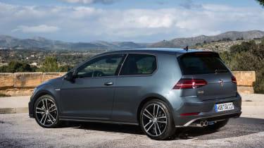 Volkswagen Golf GTD 2017 facelift - rear quarter