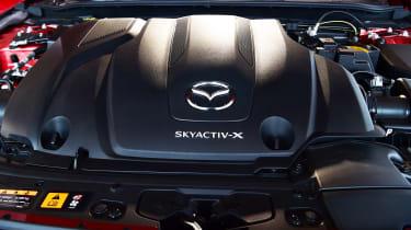 Mazda 3 Skyactiv-X long termer - first report engine detail