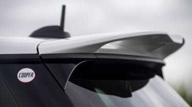 MINI JCW Anniversary Edition - rear wing