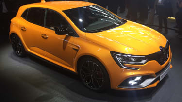 New Renault Megane RS - front