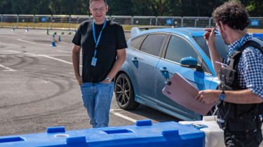Stunt driving, with Hugo Griffith