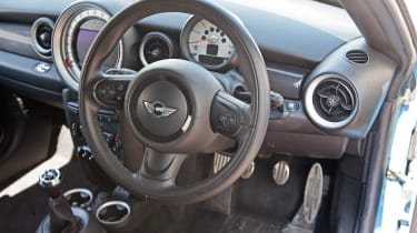 Used MINI Roadster - dash