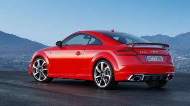 Audi TTRS 2016 - coupe rear quarter