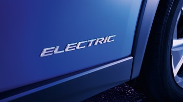Lexus UX 300e - Electric badge