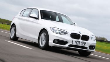 BMW 1 Series - front tracking