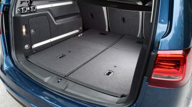Volkswagen Sharan folded rear seats