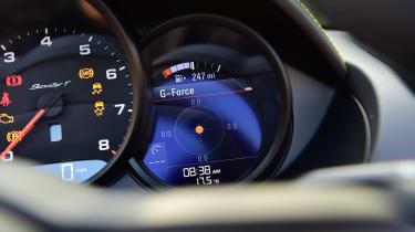 Porsche Boxster T - dials