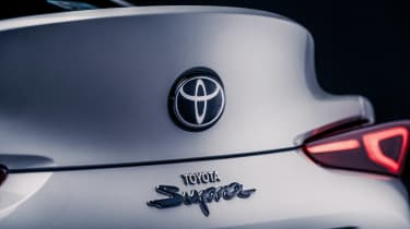 Toyota GR Supra 2.0 - rear badge