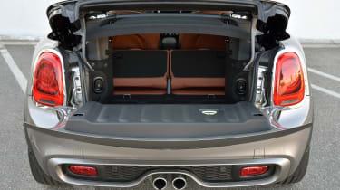 MINI Cooper S Convertible 2016 review - boot