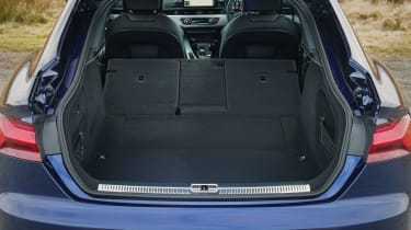 Audi A5 Sportback - boot seats down