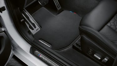 BMW X3 M with M Performance parts - door sill
