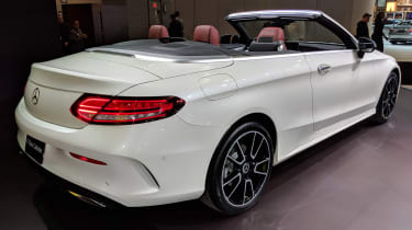 Mercedes C-Class Cabriolet - New York rear