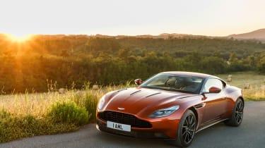 Aston Martin DB11 2016 - front quarter 3