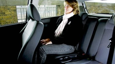 Volkswagen Fox backseat