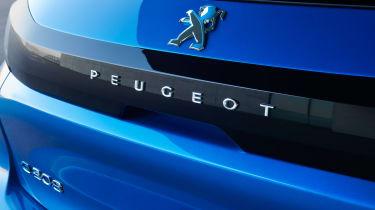 Peugeot e-208 - rear detail