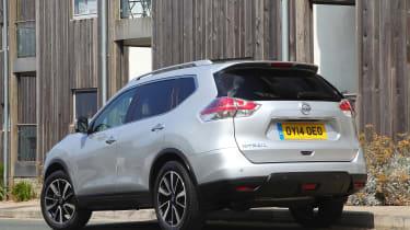 Used Nissan X-Trail - rear static