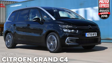 Citroen Grand C4 SpaceTourer - 2018 MPV of the Year