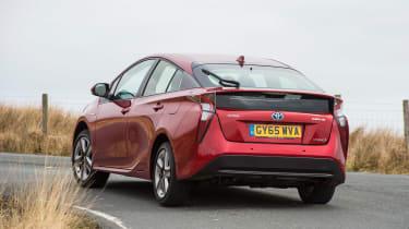 Toyota Prius - rear cornering