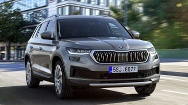 Skoda Kodiaq facelift - tracking