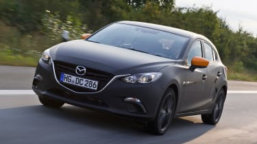 Mazda SKYACTIV-X prototype - front