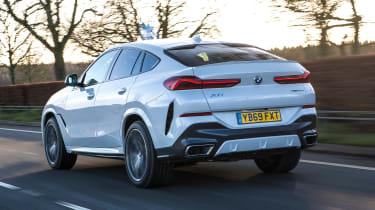 BMW X6 twin test - rear
