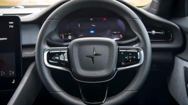 Polestar 2 Standard Range Single Motor - steering wheel