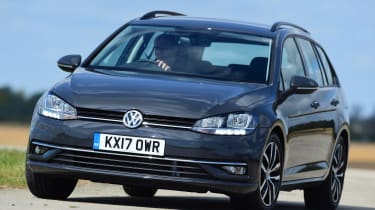 Volkswagen Golf Estate - front cornering