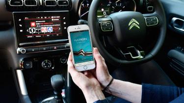 Citroen C3 Aircross long-term test - My Citroen app